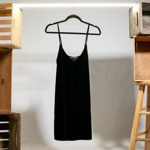 Black Brandy Melville Velvet Dress